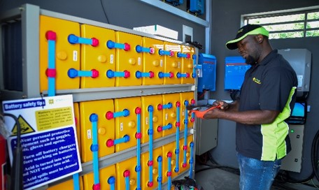 battery system in Nigeria